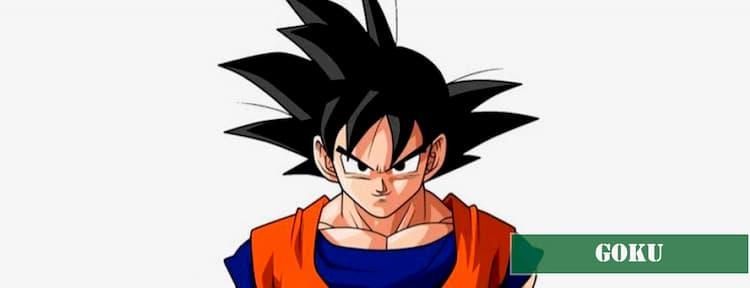Goku nombre para perro macho