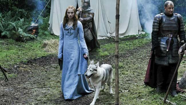 perro lobo juego de tronos