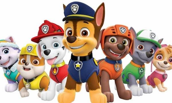 nombres de perros paw patrol